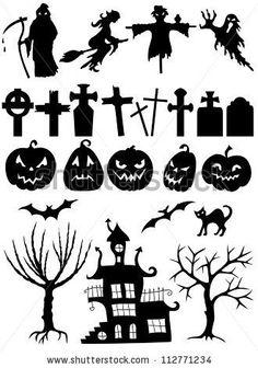 halloween silhouette - Google Search