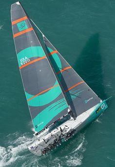 Quantum Racing, TP52 class, sail racing yacht.