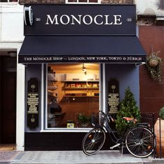 This looks familiar!!..We are loving this old fashioned bike. Best way to add the perfect touch to any store front.