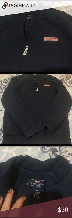 Men's Vineyard Vines Pullover Navy blue. men's XS no wear. Vineyard Vines Shirts Sweatshirts & Hoodies