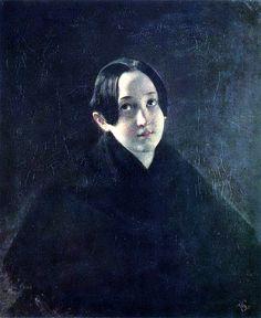 Karl Briullov  Portrait Durnova
