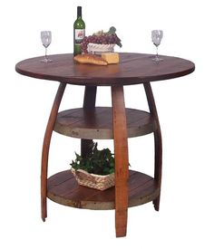 Barrique Bistro Table - Western Decor - Cabin Decor