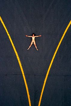 Aerial Nudes Photographed by John Crawford