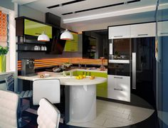 Кухня : Кухня в стиле модерн от Kiwi_project