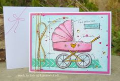 Lorraine's Loft: Baby Blueprints stamp set