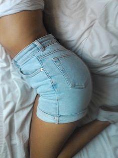The Perfect High Waisted Shorts - I'm not even kidding. If I could look good in these. I would wear them every day forever.