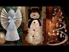 DIY Christmas Decor! 15 Easy Fast DIY Christmas & Winter Ideas for Teenagers - YouTube