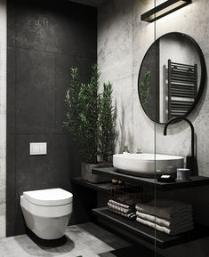 interior home design ideas Home Room Design, Dream Home Design, Home Interior Design, Interior Colors, Interior Paint, Bathroom Design Inspiration, Bad Inspiration, Design Ideas, Bathroom Design Luxury