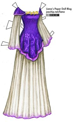 Liana's Paper Doll Blog » gowns
