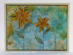 Regina's Artfun: Jofy Sunflowers