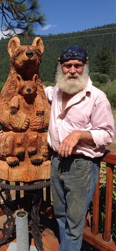 Carved Bears | Wolf Creek WoodWorks