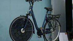 Nederlandse fiets met zonnepanelen in wiel gepresenteerd