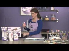 ▶ How to add a Candy Drizzle to Treats with Candy Melts® Candy - YouTube