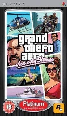 Gta Vice City Stories Psp Nuovo Grand Theft Auto Psp Theft