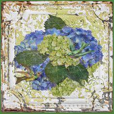 I uploaded new artwork to fineartamerica.com! - 'Hydrangeas With Humming Birds-a' - http://fineartamerica.com/featured/hydrangeas-with-humming-birds-a-jean-plout.html via @fineartamerica