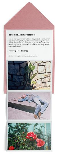 Send Me Back My Postcard - Jefferson Cheng — Design & illustration