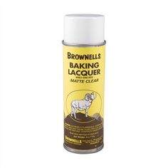 AEROSOL BAKING LACQUER | Brownells. Use to protect a patina.