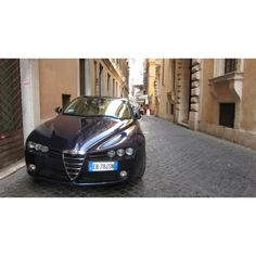 Alfa Romeo 159 in Rome, Italy, June 2012.