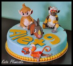 Pokemon cake - Cake by Kate Plumcake