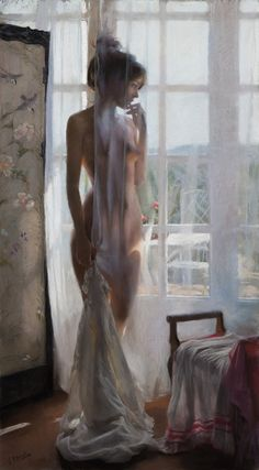 Paintings   VICENTE ROMERO - 100×54 cm. pastel