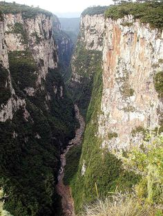 Cânion Itaimbezinho - Cambara do Sul (RS) - Brasil