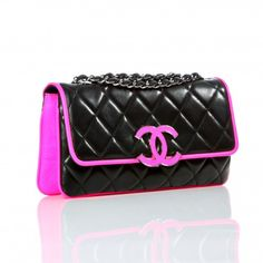 Black Chanel Purse b4c65f24edf18
