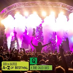 """I was so chuffed to book one of the greatest hip-hop acts of all time to headline and now the rumours are their Saturday night set might just be their last gig ever! Even if it's not @atribecalledquest at #Bestival17 has got historic written all over it. @robdabank1973 / A to Z of Bestival #BestivalAtoZ"