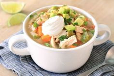 Hungry Girl's Healthy Mexican Chicken Soup Recipe