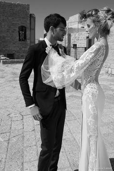 galia lahav 2015 bridal paradicio long sleeve wedding dress side detail
