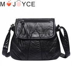 6cc4ee07a36e Women Fashion Messenger Bags Crossbody Soft PU Leather Shoulder Bag  Handbags Messenger Bags