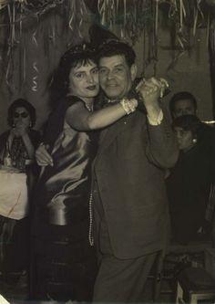 Amália Rodrigues e Alfredo Marceneiro - Lisbon 1950'.