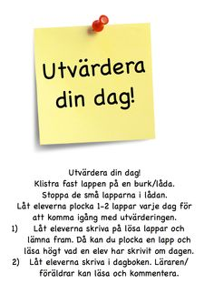 Utvärdera din dag! Exit Tickets, Writing Strategies, Teacher Hacks, Teaching Materials, Preschool, Language, Education, Learning, Classroom Ideas