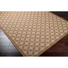 @Overstock - Woven in, olefin this rug features colors of brown sugar, sepia, tan. Its unique design will make this rug stand out in any home.http://www.overstock.com/Home-Garden/Woven-Brown-Indoor-Outdoor-Moroccan-Tile-Rug-311-x-57/6749920/product.html?CID=214117 $114.99