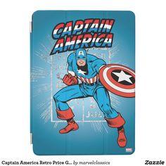 Captain America Retro Price Graphic