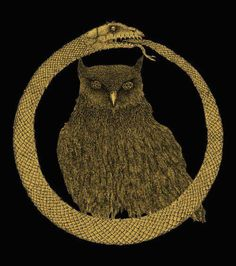 Ourobouros & Owl   What has this country come to?? Pagans ruling in the shadows   Giving rise to Ishtar's Bohemian Legacy...Filthy!!