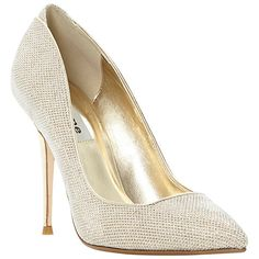 Buy Dune Ballroom Glitter Fabric Stiletto Court Shoes Online at johnlewis.com £63 cyber weekend only