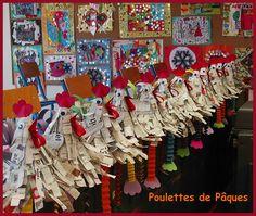 Pour fêter Pâques - La maternelle des Pins