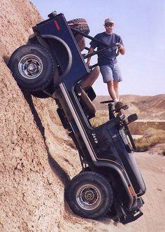 Vertical jeep