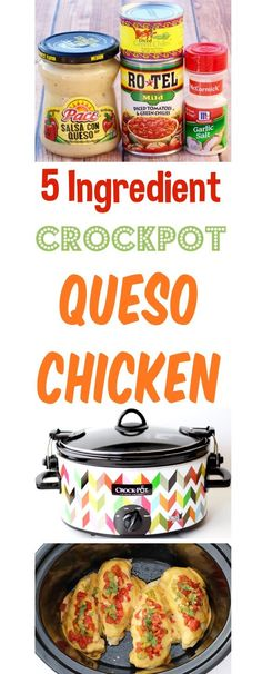 Crockpot Queso Chicken Easy Recipe Crockpot Queso Chicken Easy Recipe More from my siteSlow Cooker Chicken Enchilada Soup Slow Cooker Chicken Enchilada Soup I would definitely make this Crock-pot Recipes again! Vegaterian Recipes, Slow Cooker Recipes, Mexican Food Recipes, Cooking Recipes, Crockpot Recipes For Kids, Fish Recipes, Recipies, Chicken Queso Recipe, Easy Chicken Recipes