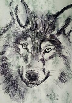 Wolf 2017 / 2 goes wydr #original #art #wydr #tinderforart #artyoulove #painting http://www.wydr.co/products/wolf-2017-2?utm_campaign=social_autopilot&utm_source=pin&utm_medium=pin