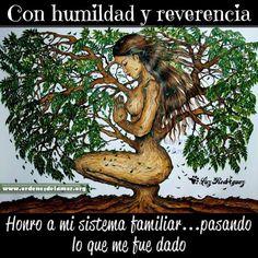 Con humildad y reverencia.....