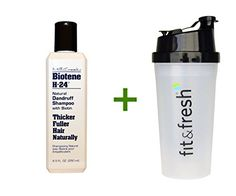Introducing Biotene H24 Natural Dandruff Shampoo with Biotin 85 fl oz 250 ml 3 PACK Vitaminder Power Shaker Bottle 20 oz Bottle. Get Your Ladies Products Here and follow us for more updates!