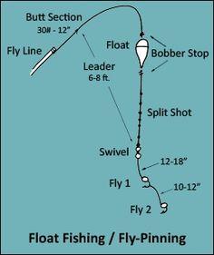 Two fly short leader rig steelhead spey fishing for Steelhead fishing rigs