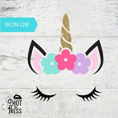 Items similar to Unicorn Iron on Decal - DIY - Applique - Heat Transfer - Unicorn Decal - Glitter - Unicorn Kit - on Etsy Easy Canvas Painting, Diy Canvas, Fabric Painting, Diy Painting, Scrapbook Paper Art, Scrapbooking, Unicorn Sketch, Transfer Paper, Heat Transfer