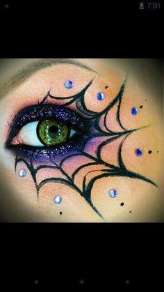 Awesome eye make up