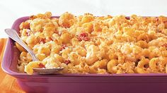 Treat your guests with this casserole that's made using pasta, Green Giant® frozen cauliflower and Muir Glen® organic tomatoes - a delicious dinner.