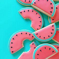 Biscuits au sucre melon d
