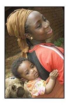 Proud mother - Bafoussam, West