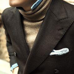 Gentlemen Wear This — gentlemenwear: Heavy knitwear is the way to go...