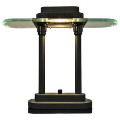 Nice Modernist Desk Lamp by Robert Sonneman | From a unique collection of antique and modern table lamps at https://www.1stdibs.com/furniture/lighting/table-lamps/